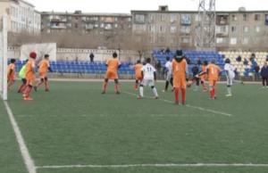 футбол в Балхаше